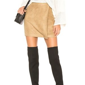 BCBGeneration Skirts - A Line Faux Suede Skirt